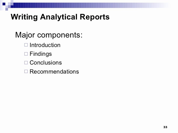 Types Of Business Reports Lovely Types Of Business Reports