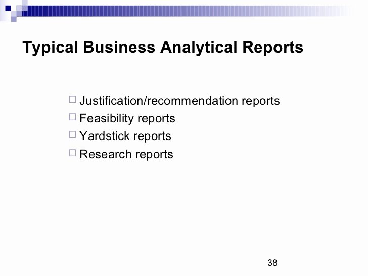 Types Of Business Reports Luxury Types Of Business Reports