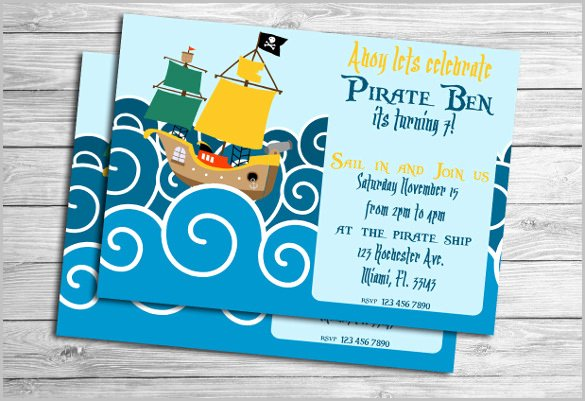 Under the Sea Invitation Template Lovely Kids Invitation Templates – 27 Free Psd Vector Eps Ai format Download