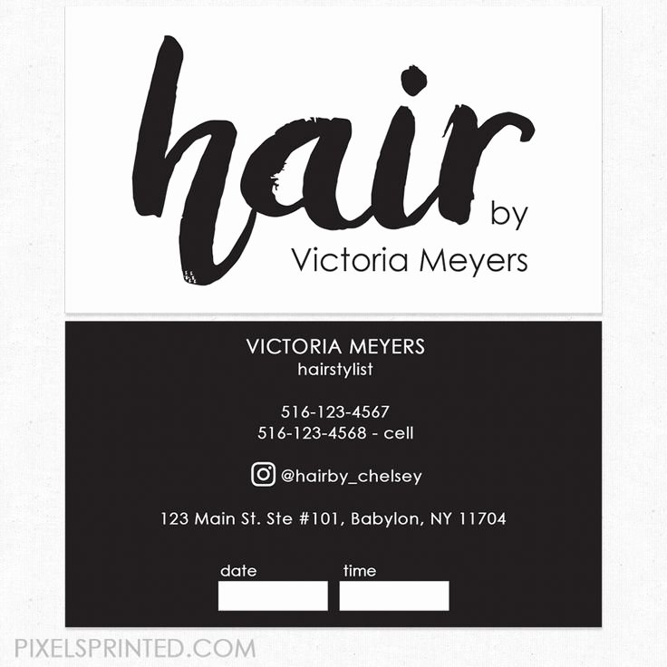 Unique Hair Stylist Business Cards Best Of 33 Best Hairstylist Business Cards Images On Pinterest