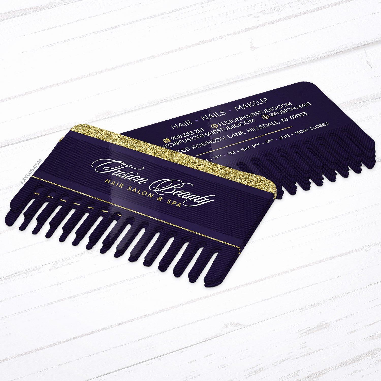 Unique Hair Stylist Business Cards Inspirational Unique Hair Stylist Business Cards • B Shaped Die Cut