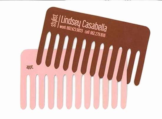 Unique Hair Stylist Business Cards Luxury List Nation 52 Amazing Business Card Designs
