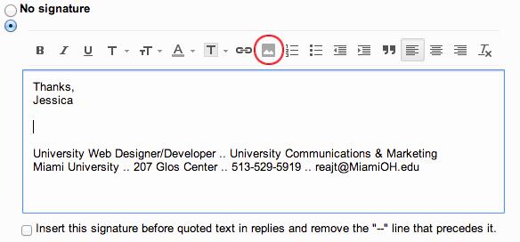 University Student Email Signature Luxury Add the Miami Logo to Your Email Signature Miami University