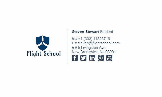 University Student Email Signature New College Student Email Signature Tips and Examples