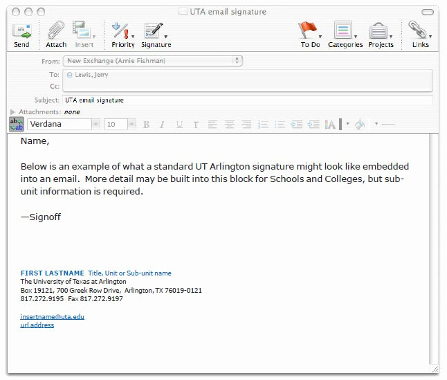 University Student Email Signature Unique Student Email Signature