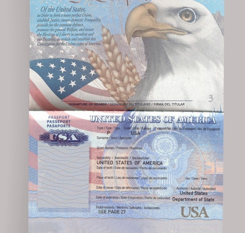 Us Passport Template Psd Inspirational Editable Usa Passport – Banalitybiz