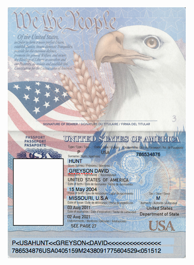Us Passport Template Psd Unique Domesticated Nomad Spy Party Passports