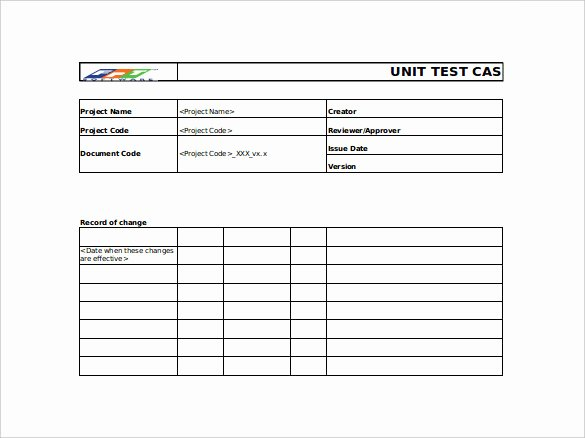 Use Case Documentation Template Lovely Test Case Template 22 Free Word Excel Pdf Documents Download