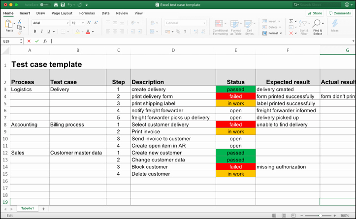 Use Cases Template Excel Inspirational Test Case Template with Real Test Case Examples Download Here