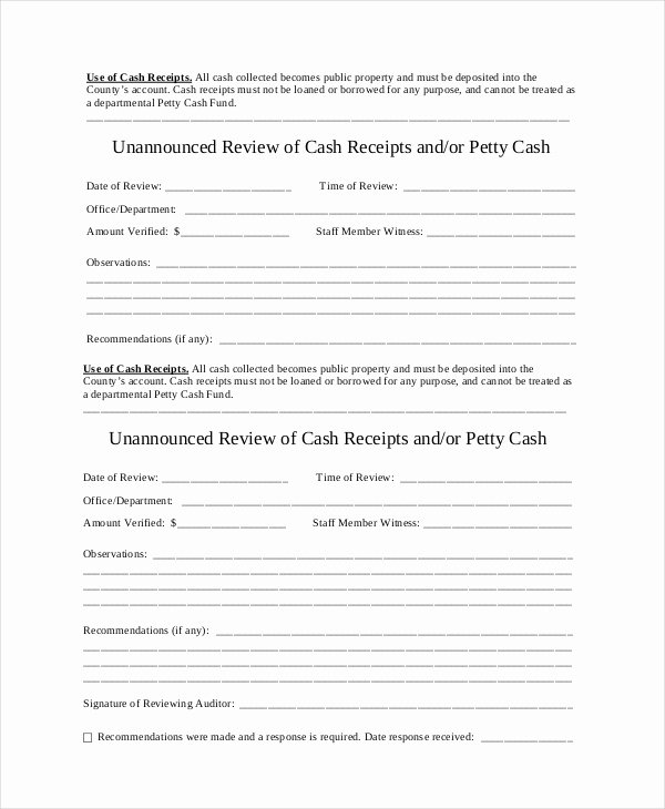 Use Of Funds Template Beautiful Cash Receipt Template to Use and Its Purposes