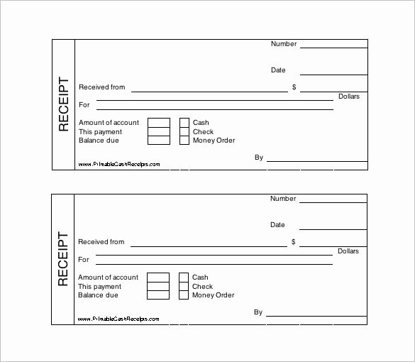Use Of Funds Template Lovely Printable Cash Receipt Template Free Receipt Template Doc for Word Documents In Different