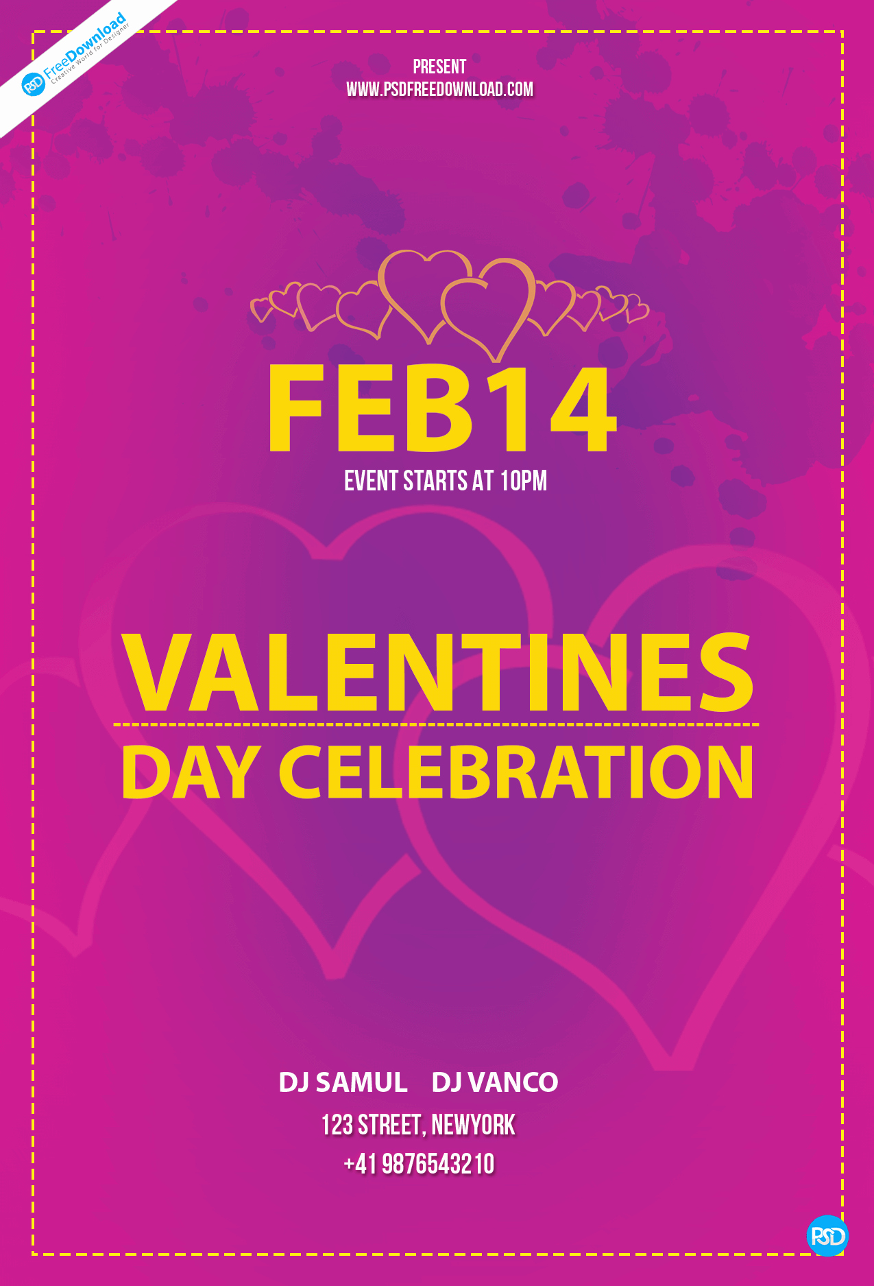 Valentines Day Flyer Template Free Beautiful Free Valentines Day Flyer Template