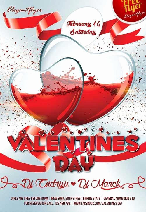 Valentines Day Flyer Template Free Fresh 20 Lovely & Free Valentine Flyer Templates
