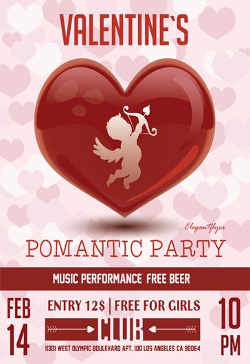 Valentines Flyer Templates Free Best Of Free Psd Flyer Templates for Party event Business