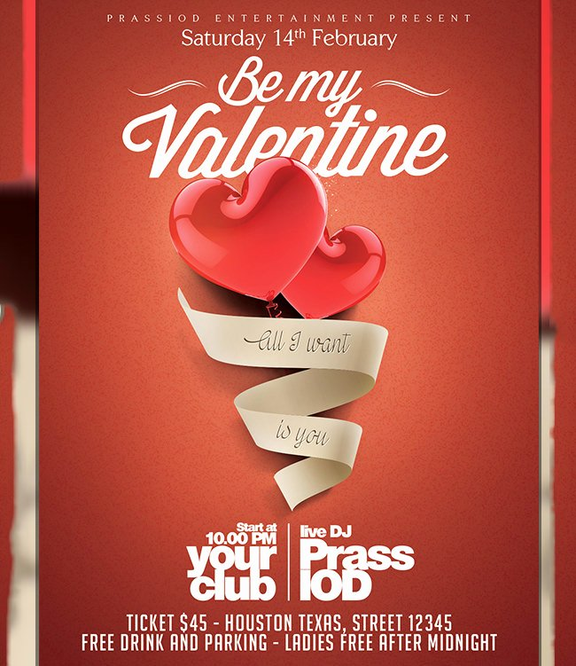 Valentines Flyer Templates Free Unique 60 Fabulous Psd Valentine Flyer Templates Word