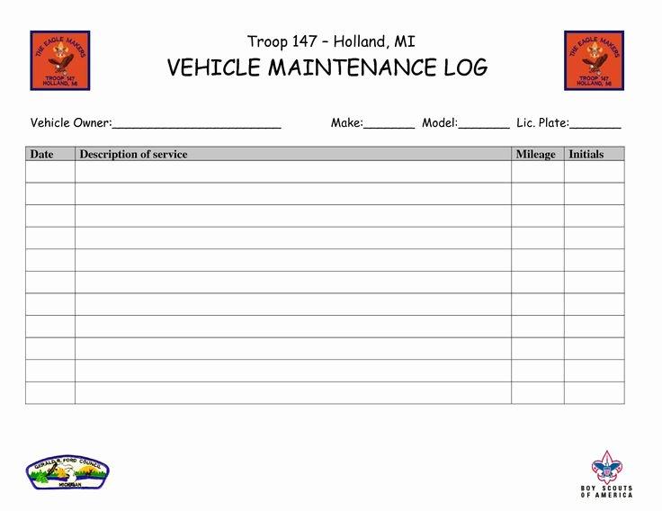 Vehicle Maintenance Log Template Elegant Vehicle Maintenance Log Book Template Ewolf software Automotivewolfm
