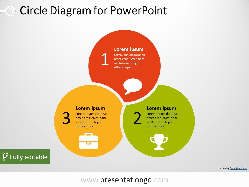 Venn Diagram Powerpoint Template Elegant 3 Circle Powerpoint Diagram Presentationgo