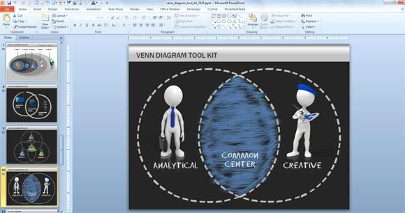 Venn Diagram Powerpoint Template Inspirational Venn Diagram toolkit for Powerpoint Powerpoint Templates