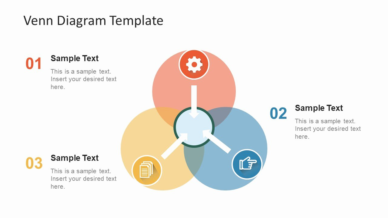 Venn Diagram Powerpoint Template Lovely Simple Flat Venn Diagram Powerpoint Template Slidemodel