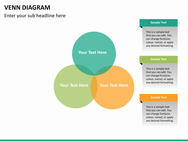 Venn Diagram Template Powerpoint Awesome Venn Diagram Powerpoint Template