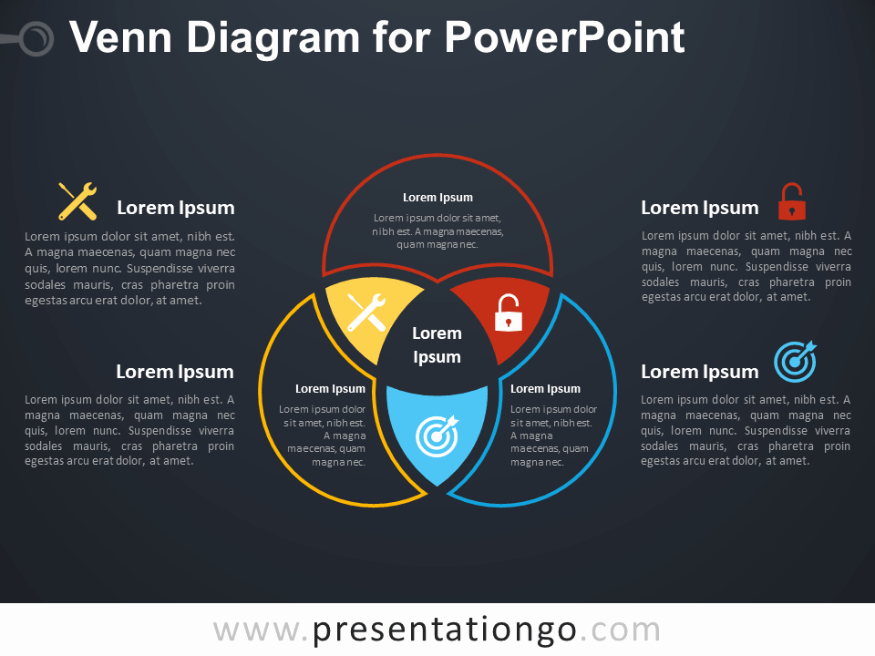 Venn Diagram Template Powerpoint Beautiful Venn Diagram for Powerpoint Presentationgo
