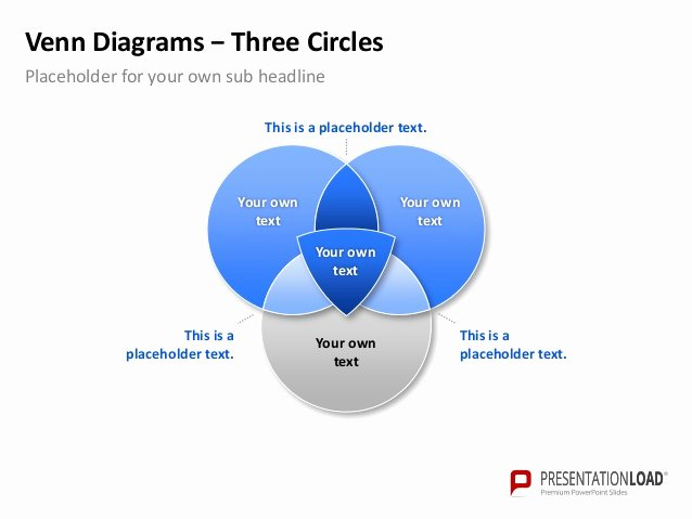Venn Diagram Template Powerpoint Lovely Powerpoint Venn Diagram Template