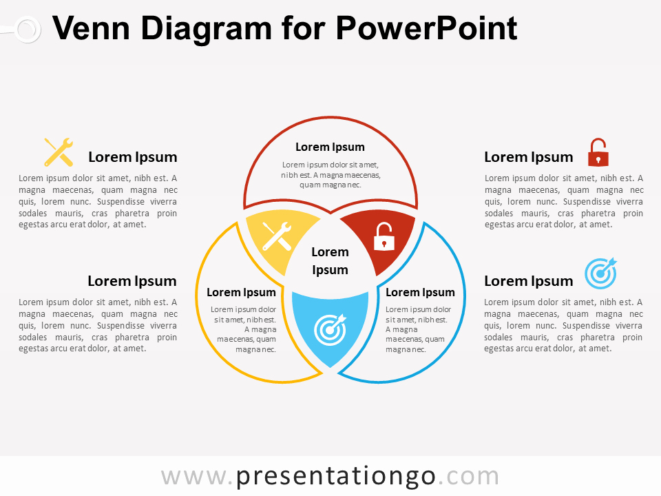 Venn Diagram Template Powerpoint Lovely Venn Diagram for Powerpoint Presentationgo