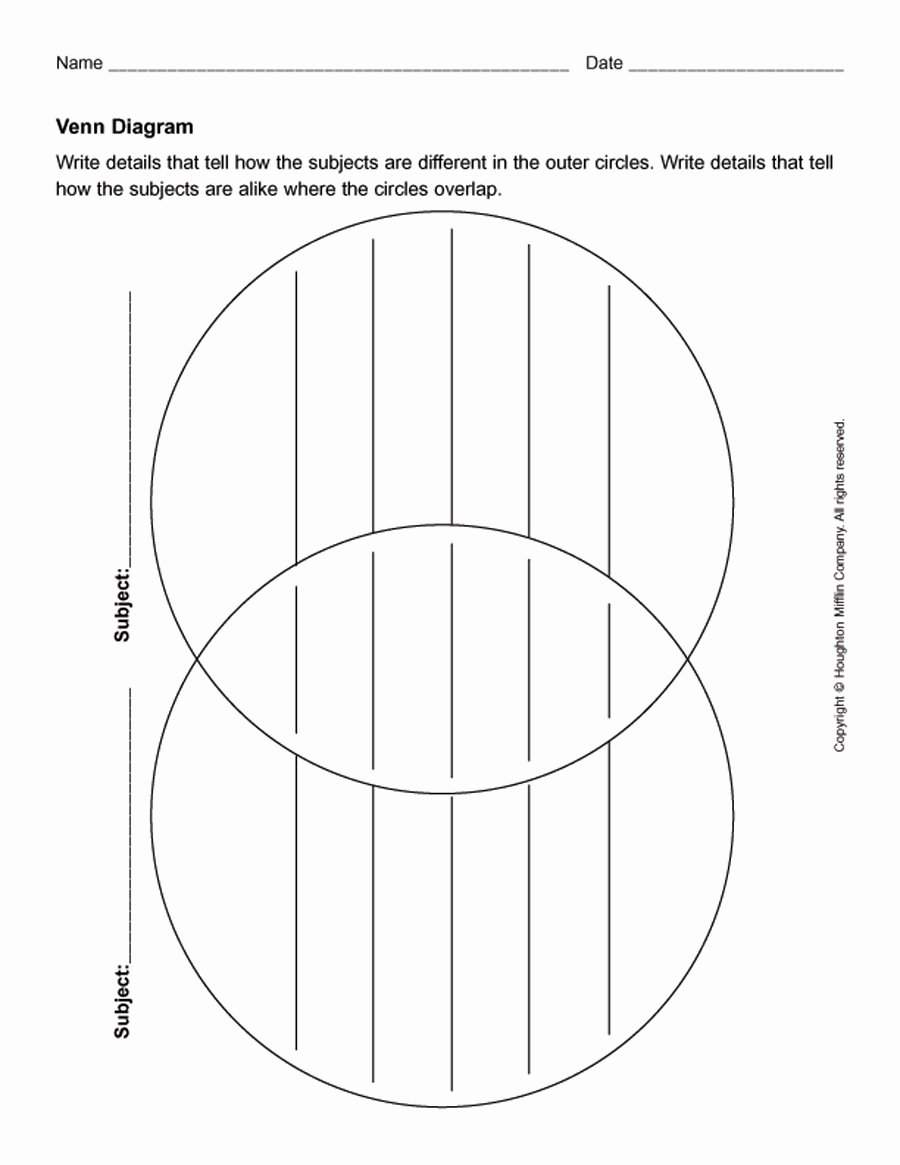 Venn Diagram Template Word Fresh 41 Free Venn Diagram Templates Word Pdf Free Template Downloads