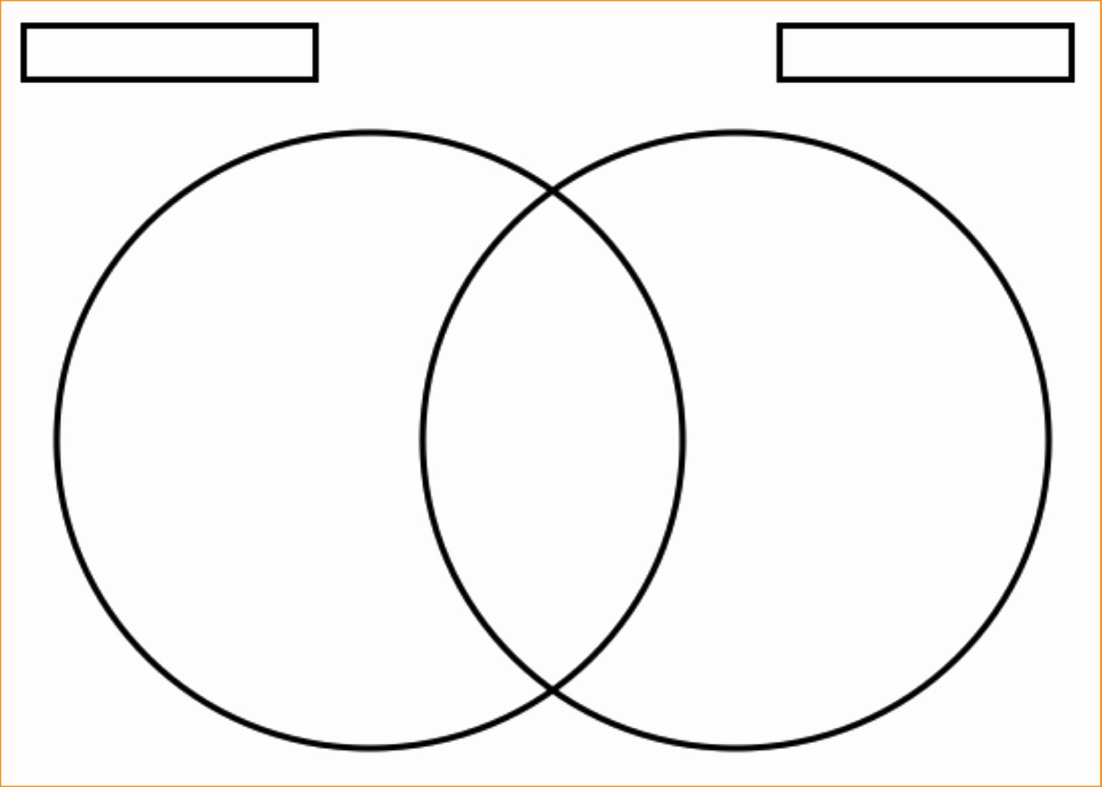 Venn Diagram Template Word Lovely Venn Diagram Template