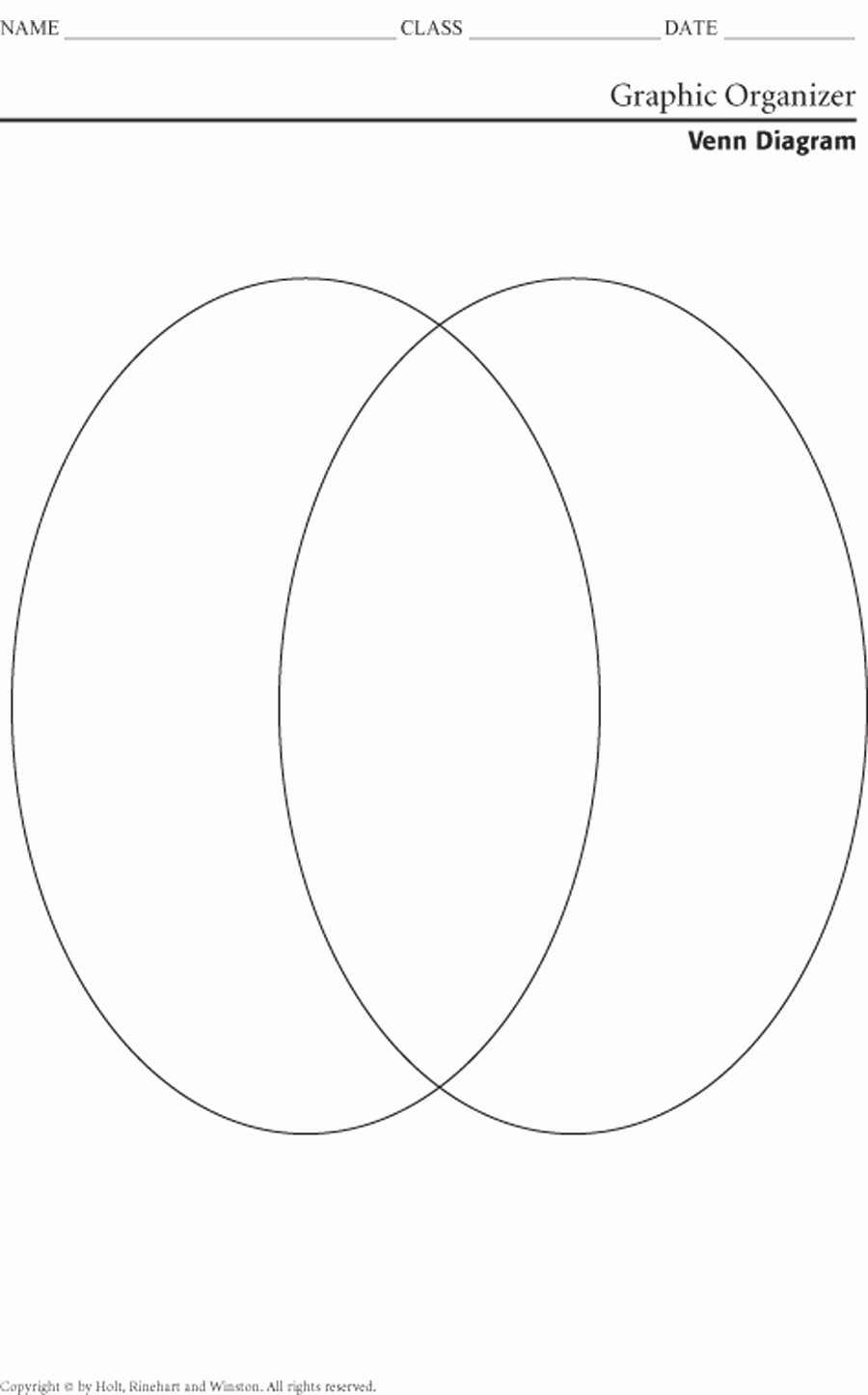 Venn Diagram Template Word New Printable Venn Diagram 2 Circles
