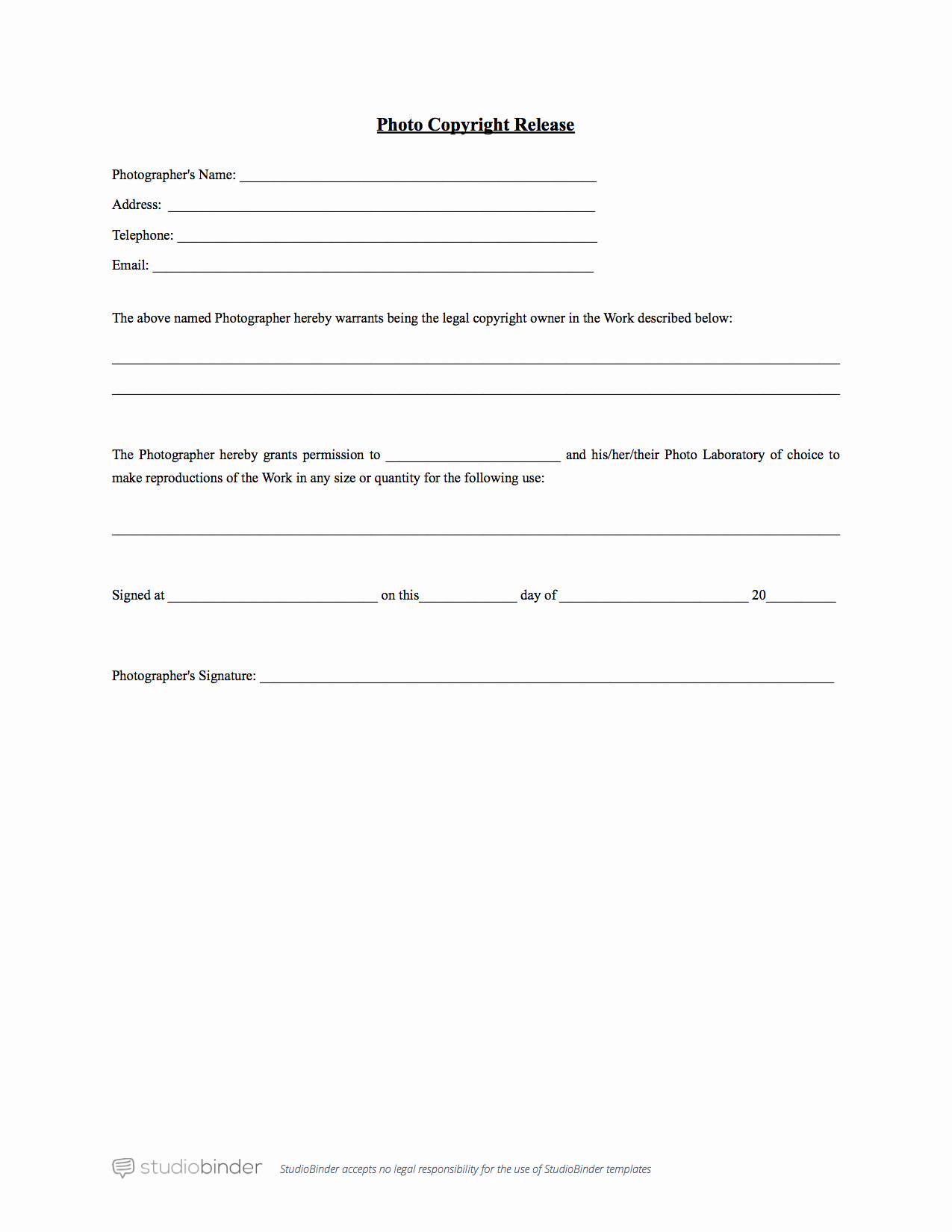 Video Consent form Template Fresh why You Should Have A Release form Template