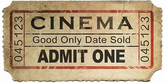 Vintage Movie Ticket Template Fresh Hi Res Old Movie Tickets Shop Design