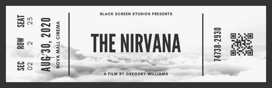 Vintage Movie Ticket Template Inspirational Customize 56 Movie Ticket Templates Online Canva