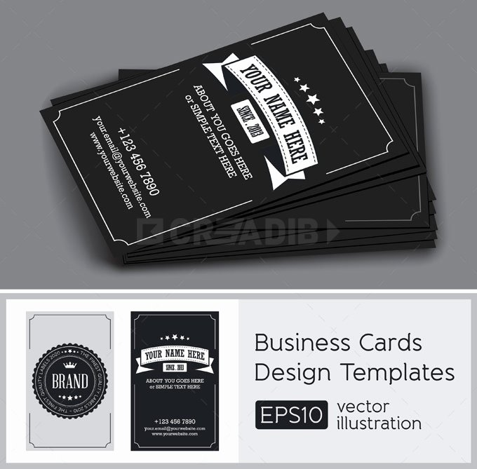 Vintage Style Business Cards Inspirational Business Card Vintage Style Creadib
