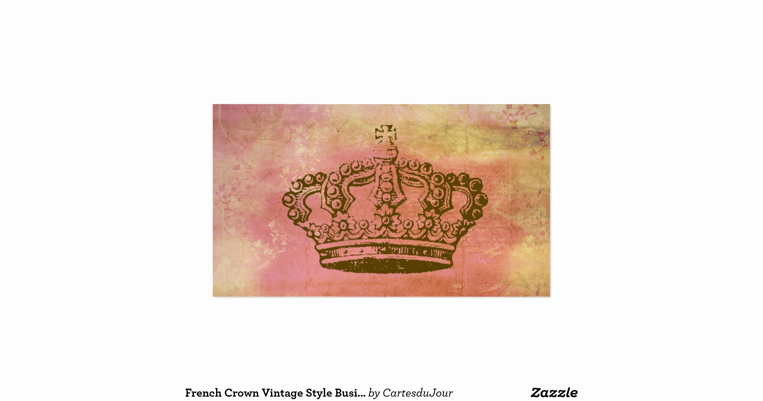 Vintage Style Business Cards Lovely French Crown Vintage Style Business Cards R492dec B4506b8563f3a6470e54c I5790 8byvr 1200