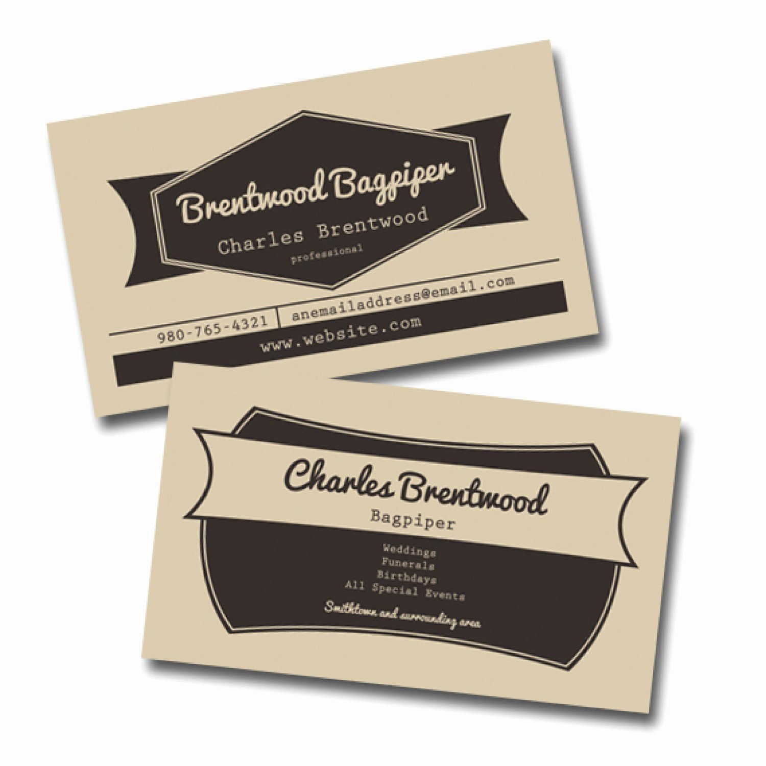 Vintage Style Business Cards Unique Vintage Style Business Card