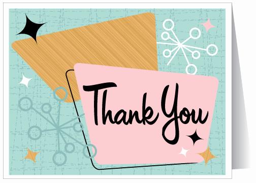Vintage Thank You Cards Elegant November News