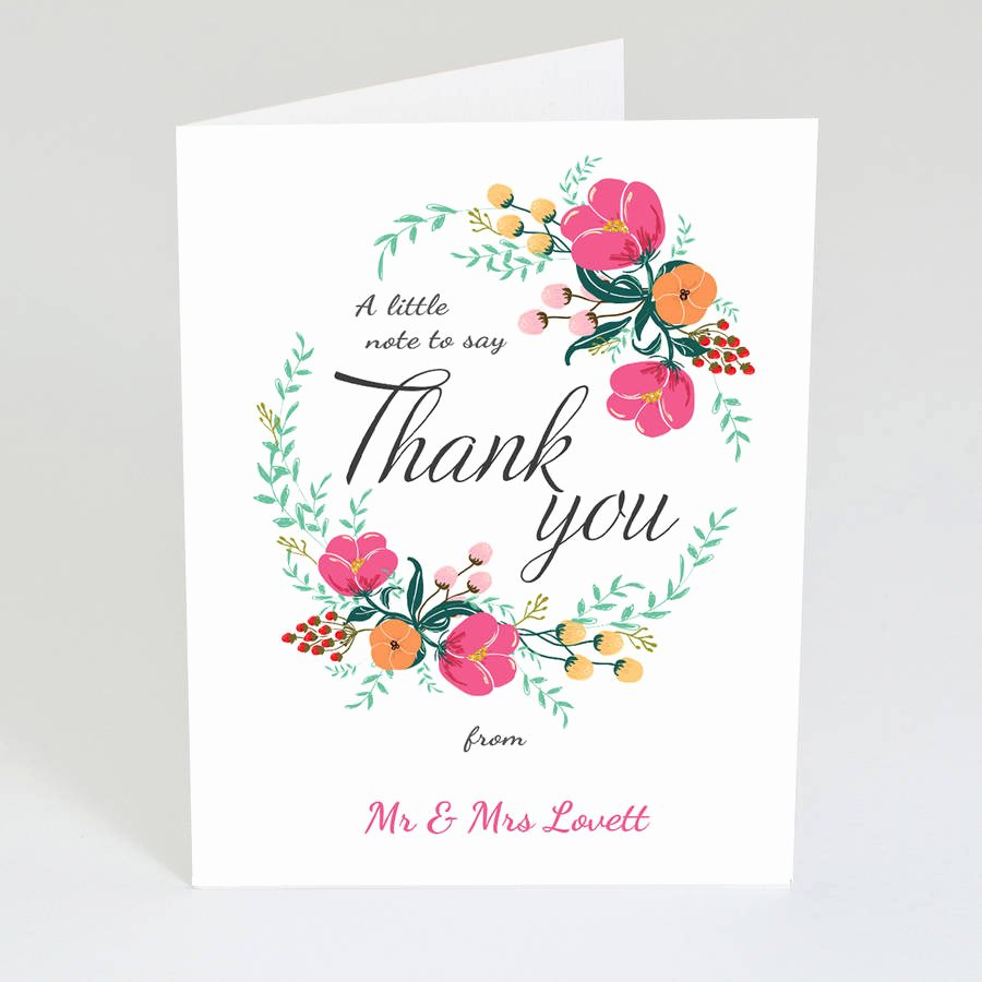 Vintage Thank You Cards New Personalised Vintage Thank You Card by Violet Pickles