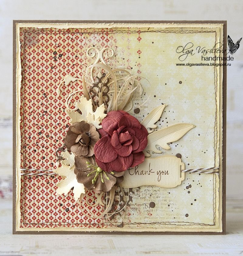 "Vintage Thank You Cards Unique A Vintage ""thank You"" Card Outside the Box"