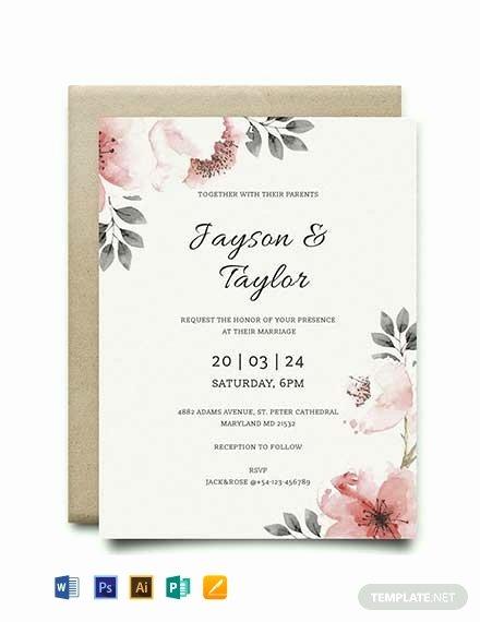 Vintage Wedding Invites Templates Beautiful Free Vintage Wedding Invitation Template Word