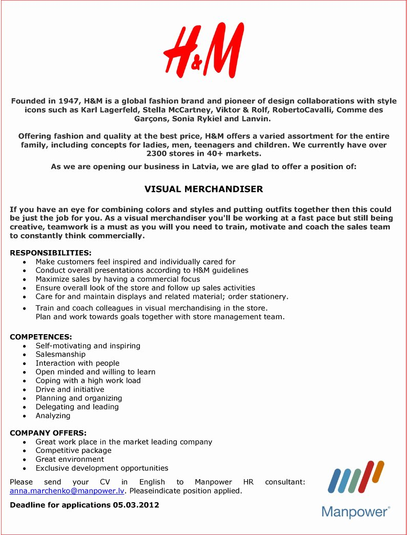 Visual Merchandising Resume Samples Best Of Visual Merchandising Internship Cover Letter Customer Feedback