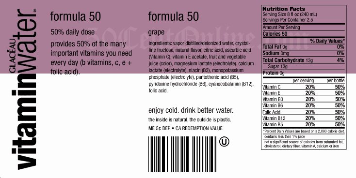Vitamin Water Label Template Best Of Vitaminwater What are You Really Drinking