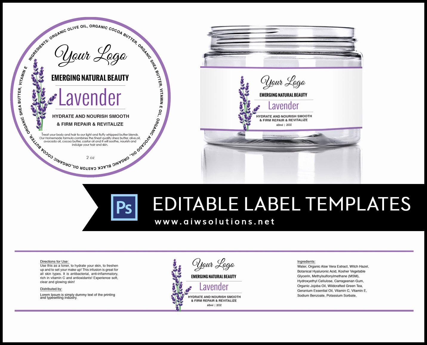 Vitamin Water Label Template Elegant Candle Label Bernardin Jar Labels Bottlelabels Candy Labels Clear Labels Freezer Labels