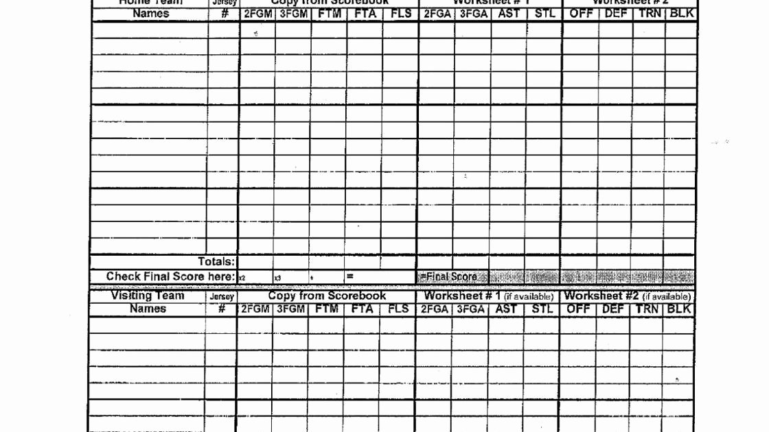 Volleyball Statistics Sheet Template Inspirational Basketball Stat Sheets and forms
