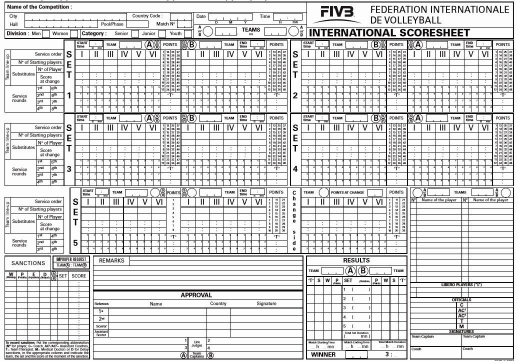 Volleyball Statistics Sheet Template Luxury 8 Free Sample Volleyball Score Sheet Templates Printable
