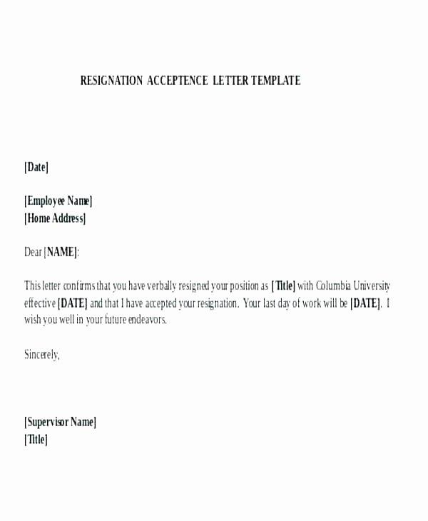 Voluntary Resignation form Template Unique Stagingusasportfo