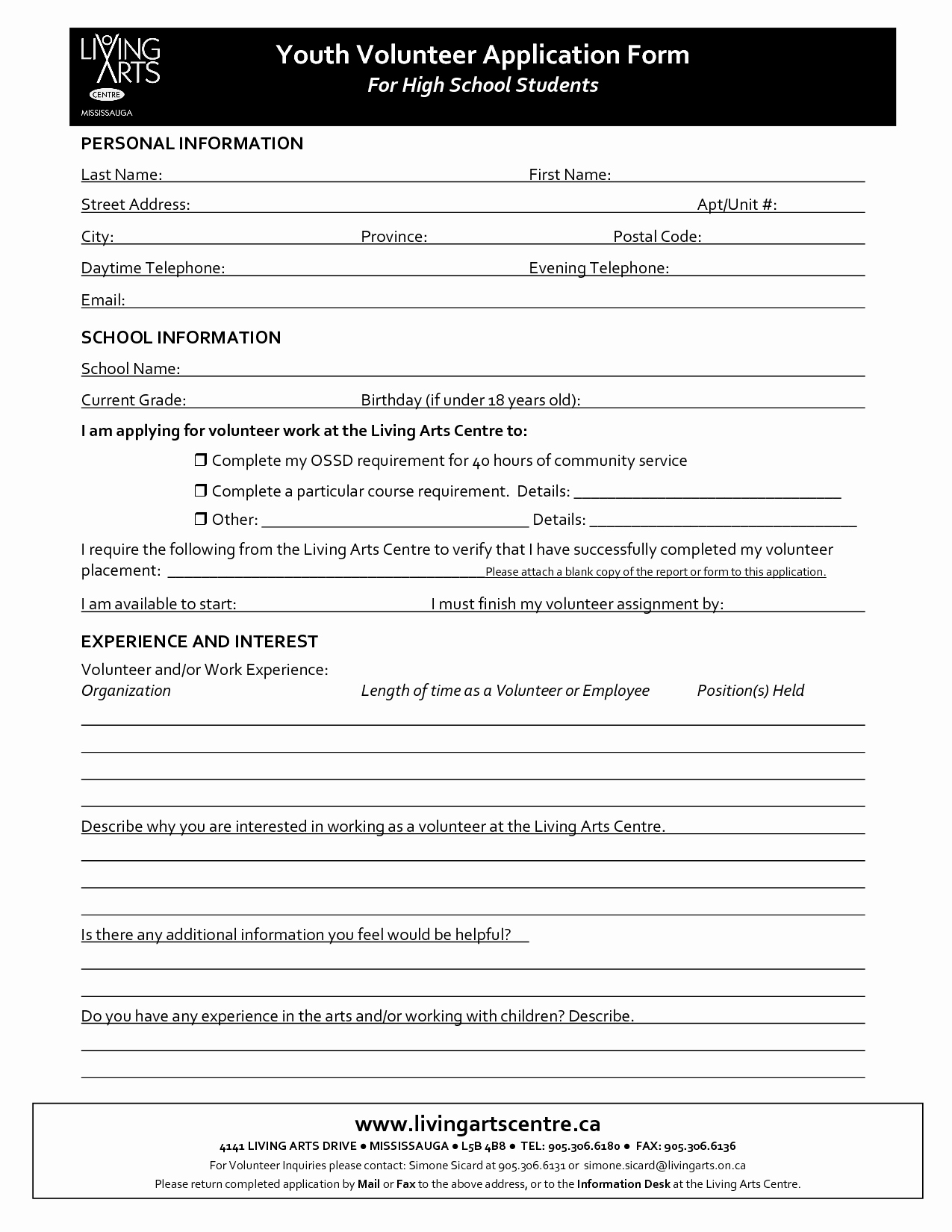 Volunteer Application form Pdf Awesome Best S Of Volunteer Requirements Template Volunteer Application form Template Blank