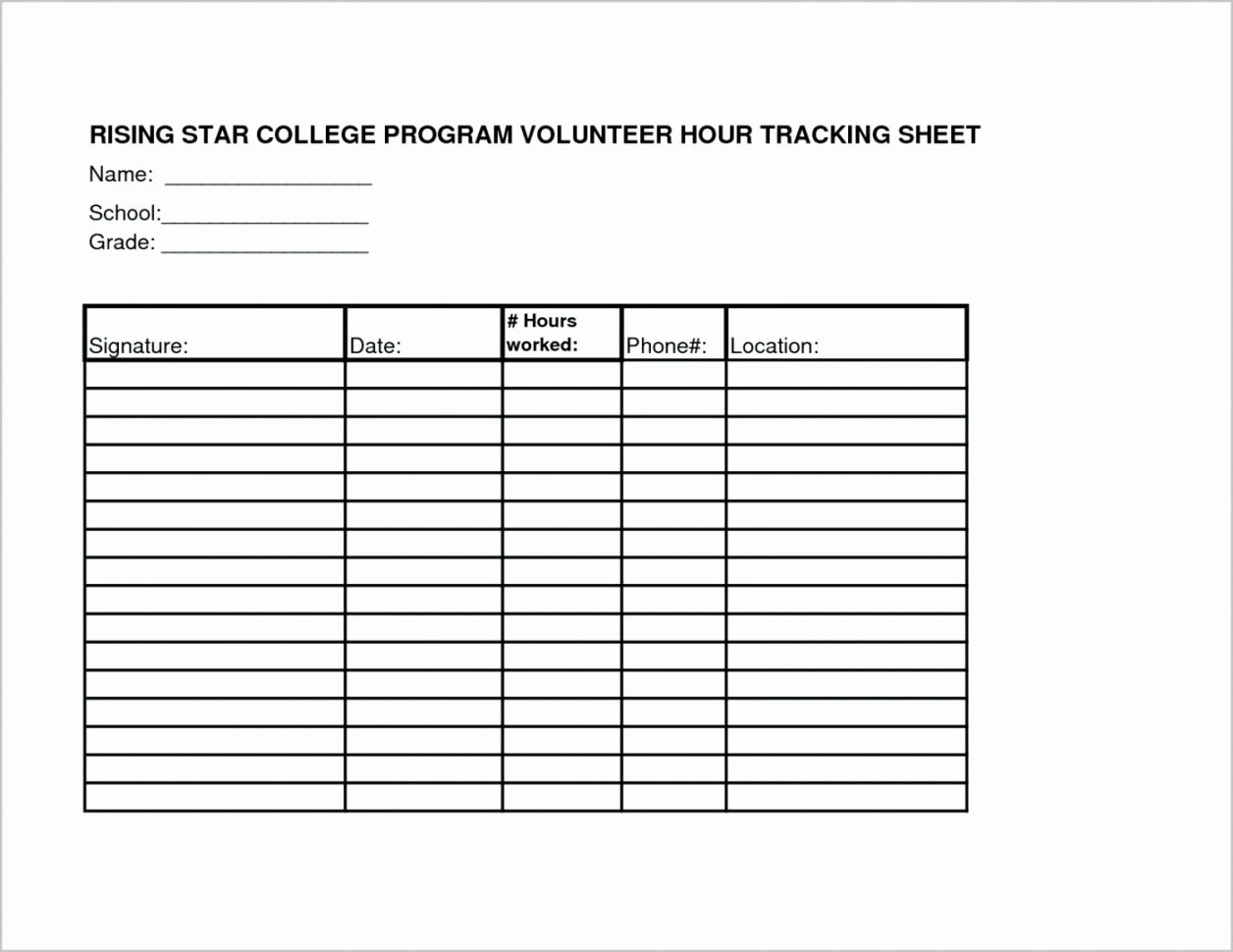 Volunteer Hours Log Template New Volunteer Tracking Spreadsheet Google Spreadshee Volunteer Tracking Spreadsheet Template