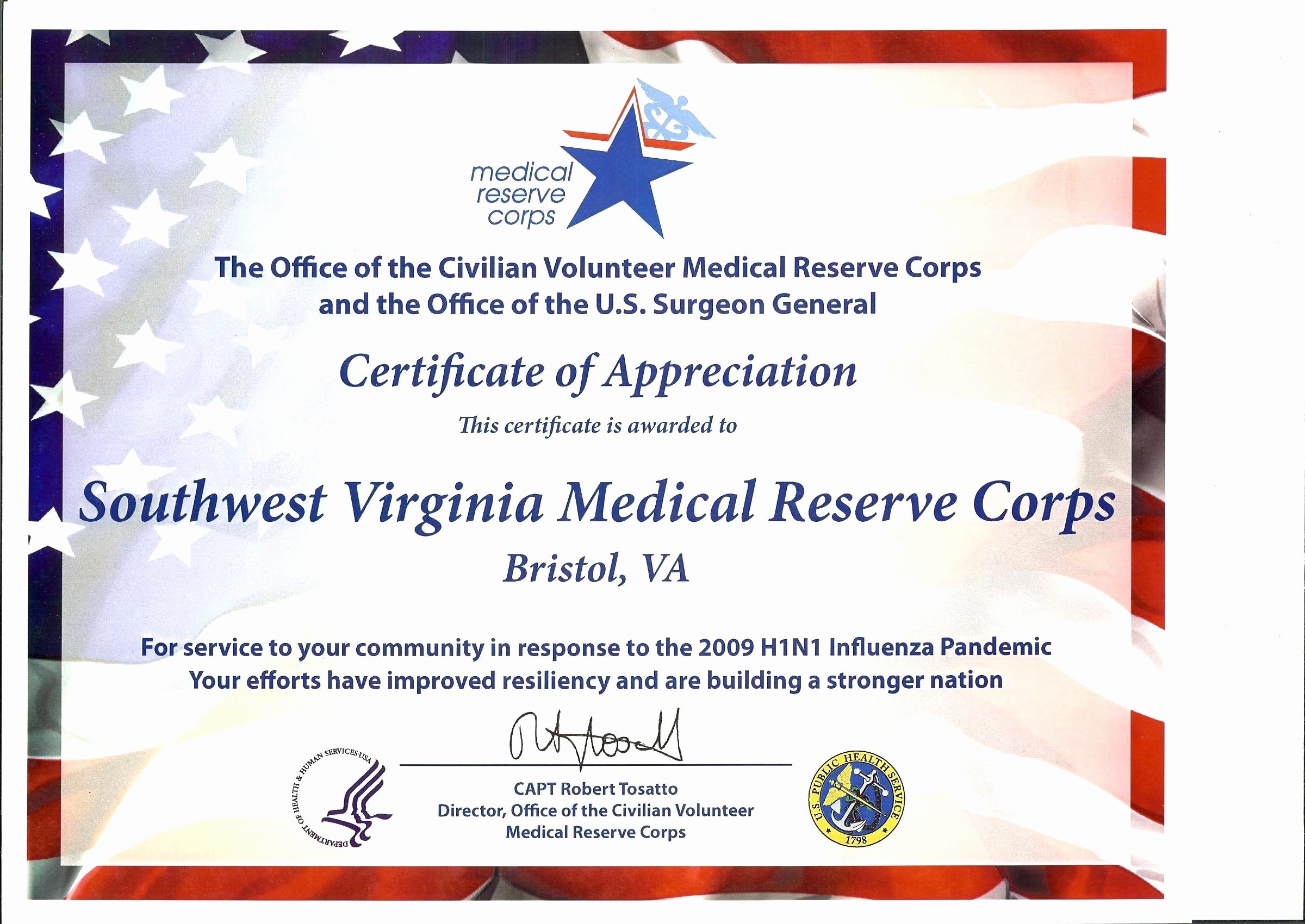 Volunteer Letter Of Appreciation Fresh Newsworthy Notes – southwest Virginia Medical Reserve Corp