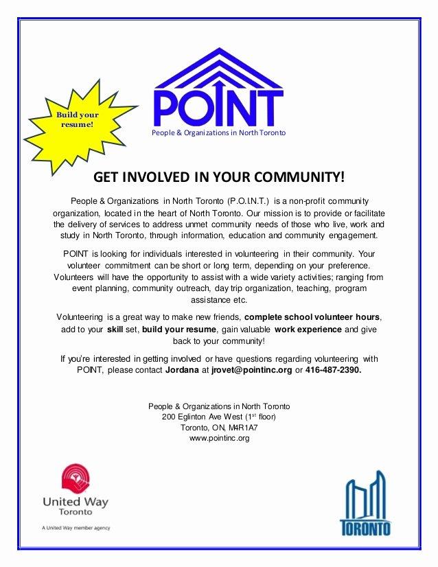 Volunteer Recruitment Plan Template Fresh Point Volunteer Recruitment Flyer Build Your Resume